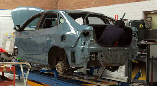 Smash Repairs for many vehicles including Lotus Excel